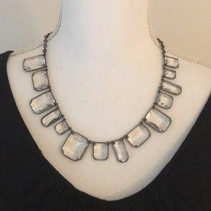J Crew cube necklace